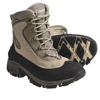 Columbia Sportswear Whitefield Winter Boots - Waterproof (For Women) in British Tan/Wild Melon