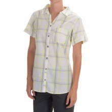 Columbia Sportswear Wild Haven Shirt - Button Front, Short Sleeve (For Women) in Fossil Plaid - Closeouts