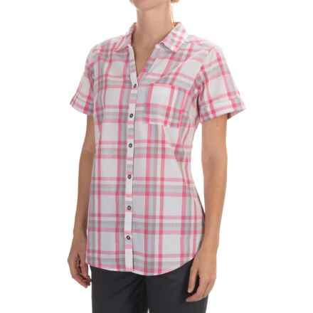 Columbia Sportswear Wild Haven Shirt - Button Front, Short Sleeve (For Women) in Sparrow Plaid - Closeouts