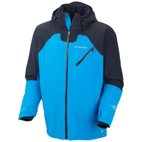 Columbia Sportswear Wildcard III Soft Shell Jacket (For Men) in Dark Compass/Abyss