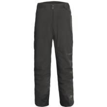 Columbia Sportswear Wildcard Soft Shell Pants - Waterproof, Insulated (For Men) in Shark - Closeouts
