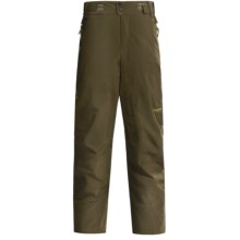 Columbia Sportswear Wildcard Soft Shell Ski Pants - Waterproof, Insulated (For Men) in Olive Green - Closeouts