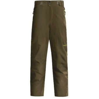 Columbia Sportswear Wildcard Soft Shell Ski Pants - Waterproof, Insulated (For Men) in Olive Green