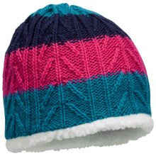 Columbia Sportswear Wilderness Run Beanie Hat (For Men and Women) in Light Turquoise/Bright Rose - Closeouts