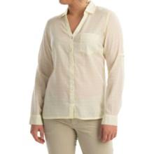 Columbia Sportswear Wiley Mesa Shirt - Long Sleeve (For Women) in Sunnyside Stripe - Closeouts