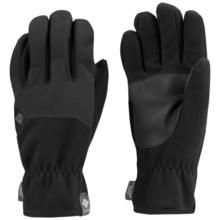 Columbia Sportswear Wind Bloc Omni-Heat® Gloves - Fleece (For Men) in Black - Closeouts
