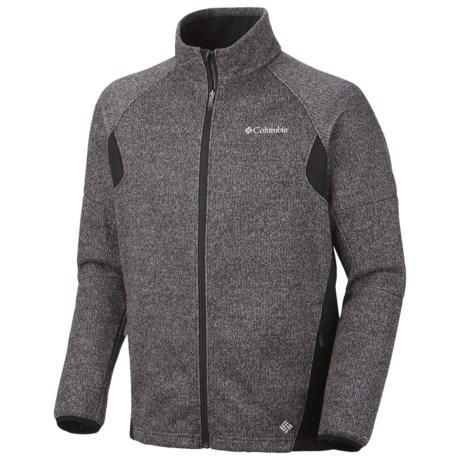 Columbia Sportswear Wind D-Ny Omni-Heat® Fleece Jacket (For Men) in Gravel Heather