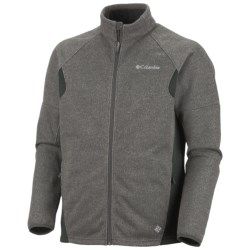 Columbia Sportswear Wind D-Ny Omni-Heat® Fleece Jacket (For Men) in Gravel Heather