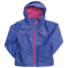 Columbia Sportswear Wind Racer Jacket (For Girls) in Bright Bluet - Closeouts