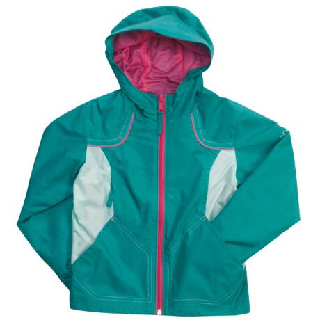 Columbia Sportswear Wind Racer Jacket (For Girls) in Lake Blue