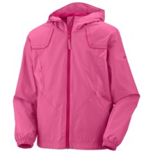 Columbia Sportswear Wind Racer Jacket (For Girls) in Pink Taffy - Closeouts