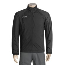 Columbia Sportswear Windcheater Golf Jacket (For Men) in Black - Closeouts