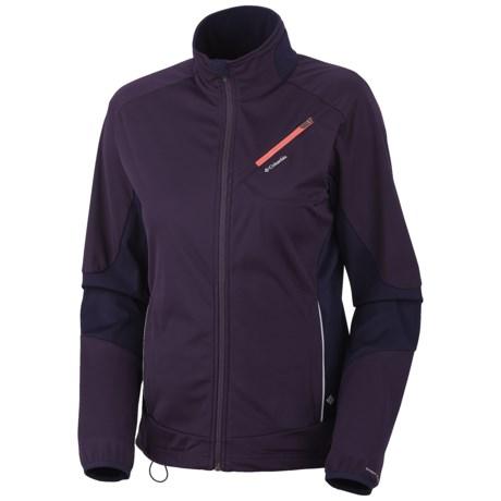 Columbia Sportswear Windefend Jacket (For Women) in Dark Plum