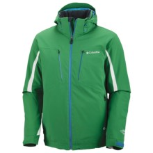 Columbia Sportswear Winter Blur Omni-Heat® Jacket - Waterproof (For Men) in 345 Fuse Green - Closeouts