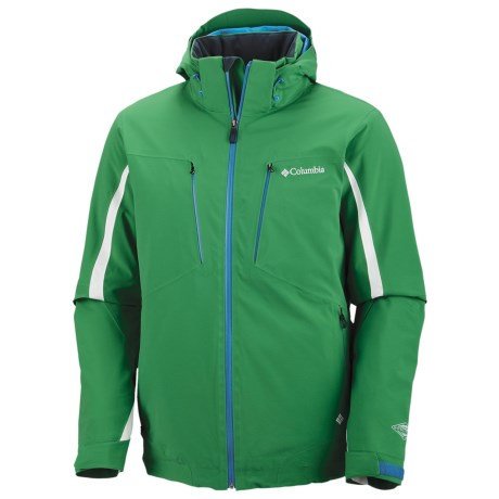 Columbia Sportswear Winter Blur Omni-Heat® Jacket - Waterproof (For Men) in Fuse Green