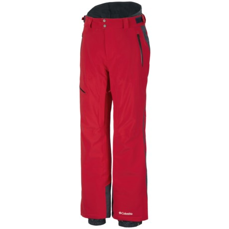 Columbia Sportswear Winter Blur Omni-Heat® Omni-Tech® Snow Pants - Waterproof (For Men) in Bright Red