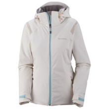 Columbia Sportswear Winter Blur Omni-Tech® Omni-Heat® Jacket - Waterproof (For Women) in 125 Sea Salt - Closeouts