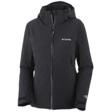 Columbia Sportswear Winter Blur Omni-Tech® Omni-Heat® Jacket - Waterproof (For Women) in Black - Closeouts