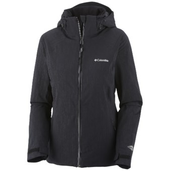 Columbia Sportswear Winter Blur Omni-Tech® Omni-Heat® Jacket - Waterproof (For Women) in Black