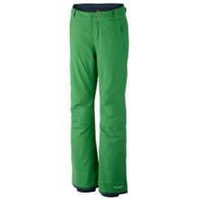 Columbia Sportswear Winter Blur Omni-Tech® Omni-Heat® Snow Pants - Waterproof (For Women) in Fuse Green - Closeouts