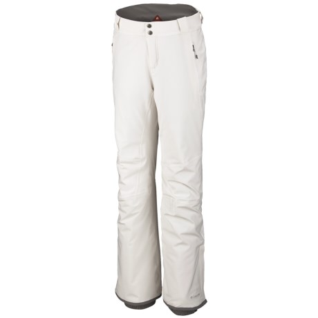 Columbia Sportswear Winter Blur Omni-Tech® Omni-Heat® Snow Pants - Waterproof (For Women) in Sea Salt