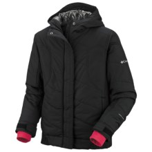 Columbia Sportswear Winter Spark Omni-Heat® Jacket - Insulated (For Girls) in Black - Closeouts