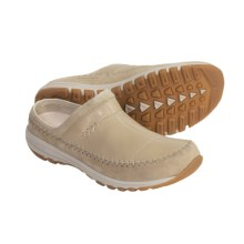 Columbia Sportswear Winter Transit Clogs - Leather, Fleece-Lined (For Women) in Winter White - Closeouts