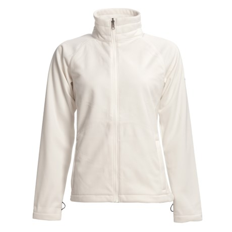 Columbia Sportswear Winter Wanderlust  Soft Shell Jacket (For Women) in Sea Salt