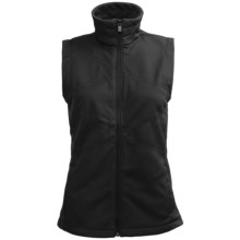 Columbia Sportswear Winter Wanderlust Vest - Soft Shell (For Women) in Black - Closeouts
