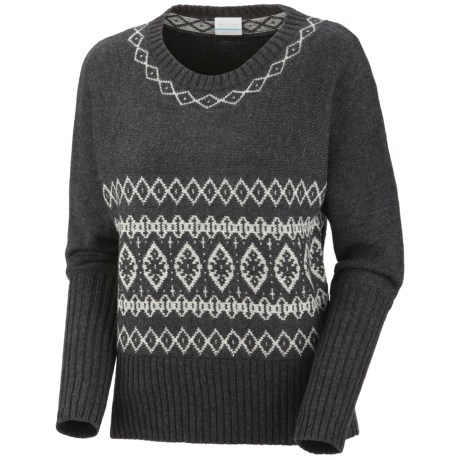 Columbia Sportswear Winter Worn Sweater - Dolman Sleeve (For Women) in Black