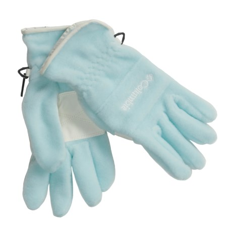 Columbia Sportswear Wintertrainer II Fleece Gloves (For Women) in Heavenly Blue