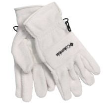 Columbia Sportswear Wintertrainer II Fleece Gloves (For Women) in Winter White - Closeouts