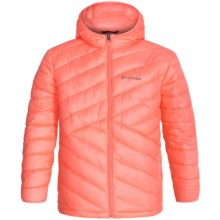 Columbia Sportswear Woodenberry Springs Jacket - Insulated (For Big Girls) in Coral Glow - Closeouts