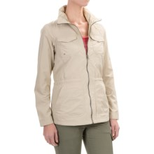 Columbia Sportswear World Trekker Omni-Shield® Jacket (For Women) in Fossil - Closeouts