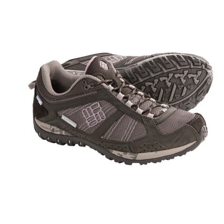 Columbia Sportswear Yama OutDry® Shoes - Waterproof (For Women) in Mud/Daybreak