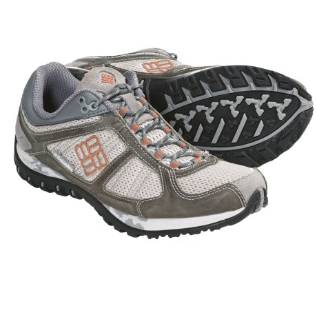Columbia Sportswear Yama Running Shoes (For Women) in Stone/Bright Peach