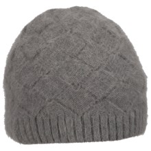 Columbia Sportswear Zenith Vista Beanie Hat - Angora (For Women) in Charcoal - Closeouts
