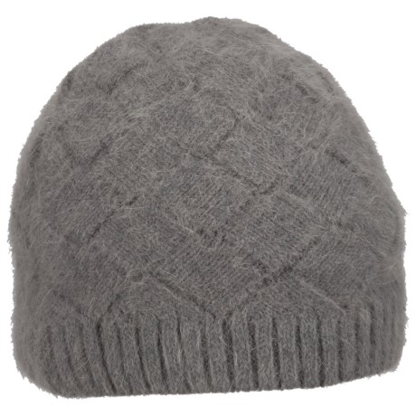 Columbia Sportswear Zenith Vista Beanie Hat - Angora (For Women) in Charcoal