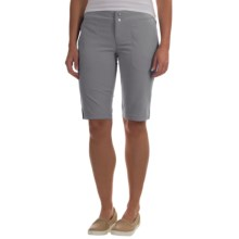 Columbia Sportswear Zephyr Heights Omni-Shield® Bermuda Shorts - UPF 50+ (For Women) in Light Grey - Closeouts