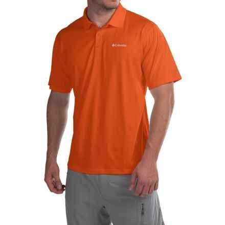 Columbia Sportswear Zero Rules Polo Shirt - Omni-Freeze® ZERO, UPF 30, Short Sleeve (For Men) in Backcountry Orange - Closeouts