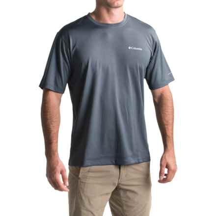 Columbia Sportswear Zero Rules T-Shirt - Omni-Freeze® ZERO, UPF 30, Short Sleeve (For Men) in Graphite - Closeouts