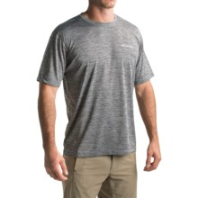 Columbia Sportswear Zero Rules T-Shirt - Omni-Freeze® ZERO, UPF 30, Short Sleeve (For Men) in Shark Heather - Closeouts