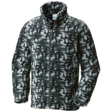Columbia Sportswear Zing III Fleece Jacket (For Boys) in Black Tree Camo - Closeouts