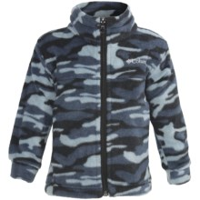Columbia Sportswear Zing Jacket - Fleece (For Toddlers) in Mystery Camo - Closeouts