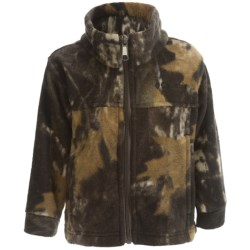 Columbia Sportswear Zing Jacket - Fleece (For Toddlers) in Mystery Camo