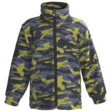 Columbia Sportswear Zing Jacket - Fleece (For Youth Boys) in Elm Camo - Closeouts