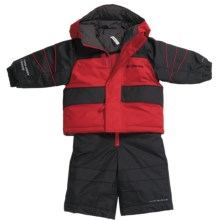 Columbia Sportswear Zoing Jacket and Bib Pants Set - Reversible, Insulated (For Infants) in Intense Red - Closeouts