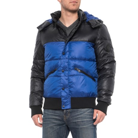 Image of Comfort Hooded Down Parka (For Men)