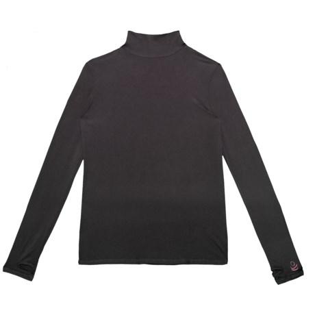 Comfortech Poly Base Layer Turtleneck - Long Sleeve (For Boys) thumbnail