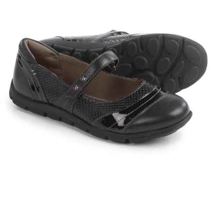 Comfortiva Corwin Mary Jane Shoes - Leather (For Women) in Black - Closeouts